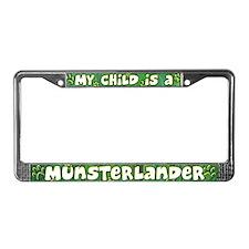 My Kid Munsterlander License Plate Frame