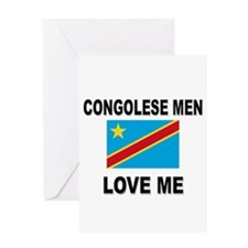 Congolese Men Love Me Greeting Card