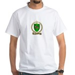 FOURNIER Family Crest White T-Shirt