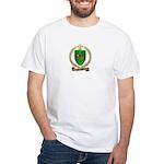 FOURNIER Family Crest White T-Shirt