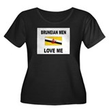 Bruneian Men Love Me Women's Plus Size Scoop Neck