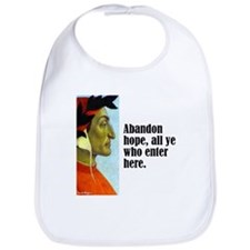 "Dante ""Abandon Hope"" Bib"