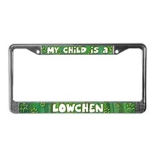 My Kid Lowchen License Plate Frame