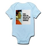 "Dante ""Follow Me"" Onesie"