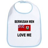 Bermudan Men Love Me Bib