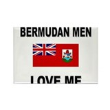 Bermudan Men Love Me Rectangle Magnet (10 pack)