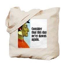 "Dante ""This Day"" Tote Bag"