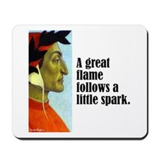 "Dante ""A Great Flame"" Mousepad"