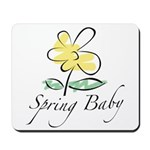 The Spring Baby Mousepad