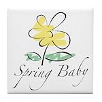 The Spring Baby Tile Coaster