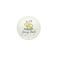 The Spring Baby Mini Button (100 pack)