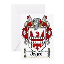 Joyce Coat of Arms Note Cards (Pk of 10)