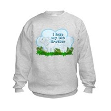 Elephant I Love Big Brother Sweatshirt