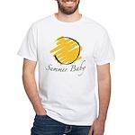 The Summer Baby White T-Shirt