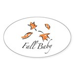 The Fall Baby Oval Sticker (50 pk)