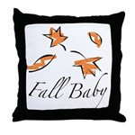 The Fall Baby Throw Pillow