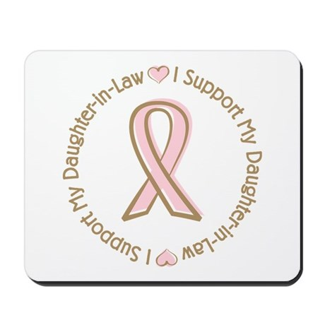 Breast Cancer Daughter-in-law Mousepad