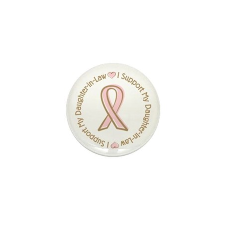 Breast Cancer Daughter-in-law Mini Button (100 pac