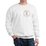 Breast Cancer Support Fiancee Sweatshirt