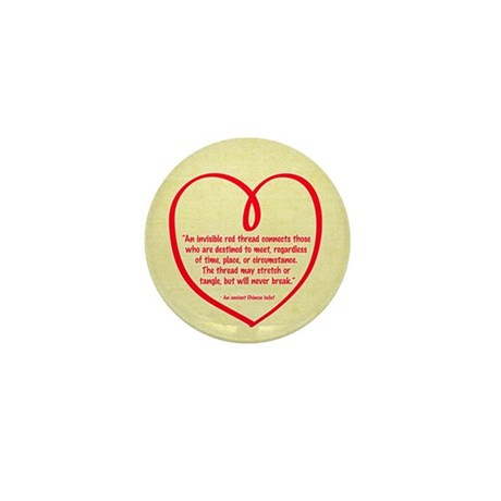 Red Thread Mini Button (100 pack)