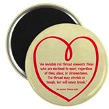 "Red Thread 2.25"" Magnet (10 pack)"