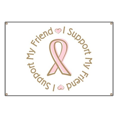 Breast Cancer Support Friend Banner