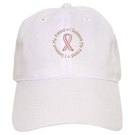 Breast Cancer Support Friend Cap