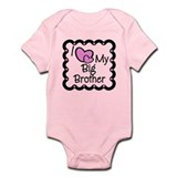 Love Big Brother Infant Bodysuit