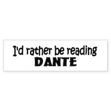 Dante Bumper Bumper Sticker