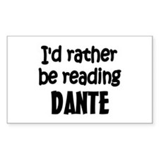 Dante Rectangle Decal