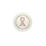 Breast Cancer Support Girlfriend Mini Button (100