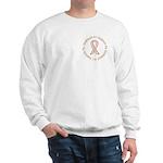 Breast Cancer Support Girlfriend Sweatshirt