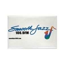 Smooth Jazz Rectangle Magnet