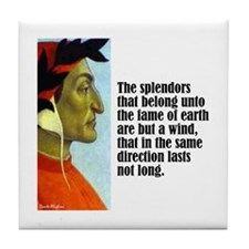 "Dante ""The Splendors"" Tile Coaster"