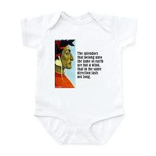 """Dante """"The Splendors"""" Infant Bodysuit"""