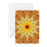 Abstract sun Greeting Cards (10 Pack)