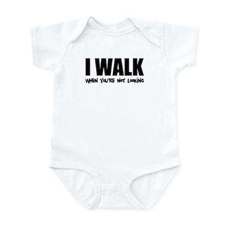 I Walk Infant Bodysuit