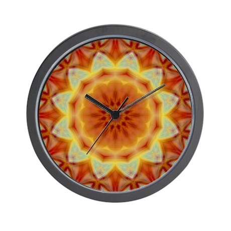 Emperor's Sunflower Wall Clock