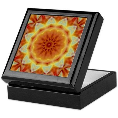 Emperor's Sunflower Keepsake Box