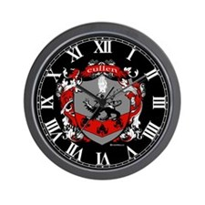 Cullen Family Crest Wall Clock