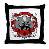 Cullen Family Crest Throw Pillow