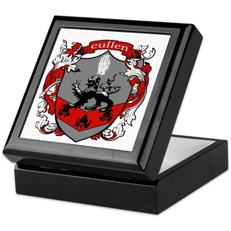 Cullen Family Crest Keepsake Box