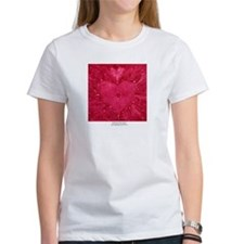 SPIRITED ROSE HEART Tee