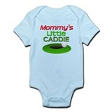 Mommy's Little Caddie Funny Golf Onesie