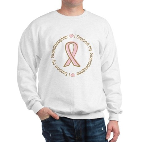 Breast Cancer Support Granddaughter Sweatshirt