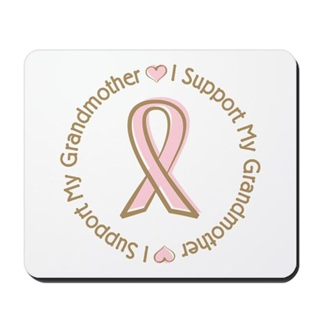 Breast Cancer Support Grandmother Mousepad