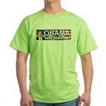 OBAMA Vote Democrat Green T-Shirt