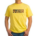 OBAMA Vote Democrat Yellow T-Shirt