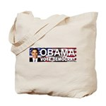 OBAMA Vote Democrat Tote Bag