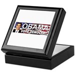 OBAMA Vote Democrat Keepsake Box